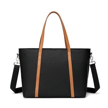 New Korean Style Women's Handbag Multi-Function Luggage Large Capacity Nylon Shoulder Bag
