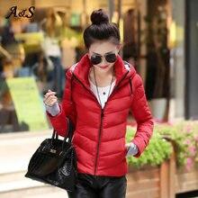 Зимняя куртка пальто пуховик высокого качества зимняя Женский