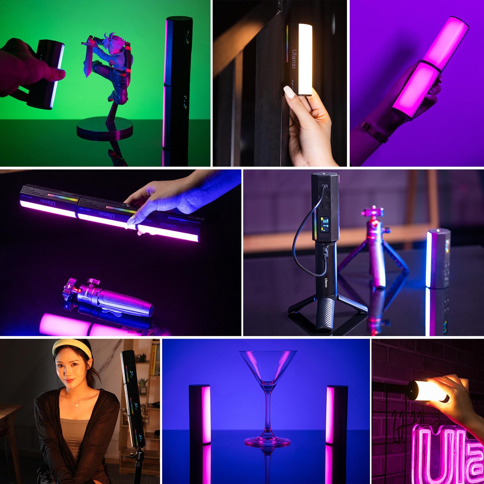 Ulanzi Compact Magnetic RGB Tube Light 9