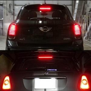 Image 5 - IJDM 黒クロームレンズ赤色 Led 3rd ブレーキランプのための 2007 2014 ミニクーパー R56 R57 R58 R60 、 OEM フィットハイマウント 12V