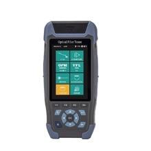 מיני OTDR Reflectometre FTTH סיבים אופטיים בודק משולב עם אופטי מד כוח OPM VFL אור מקור NK3200S NK3200D