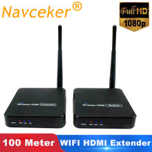 2020 ZY-DT216 Wireless HDMI Video TV Sender Empfänger WIFI 100m HDMI Extender Wireless HD 1080P Drahtlose Übertragung System(China)