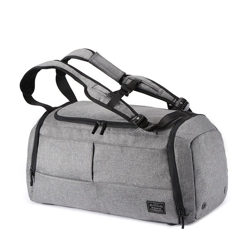 Fashion Foldable Travel Bag Portable Large Capacity Luggage Dry And Wet Separation Fitness Bag Anti-theft Travel Bag Hanimom