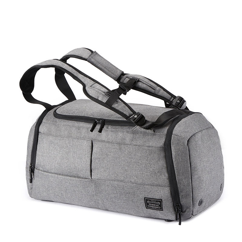 Fashion Foldable Travel Bag Portable Large Capacity Luggage Dry And Wet Separation Fitness Sport Bag Anti-theft Travel Bag
