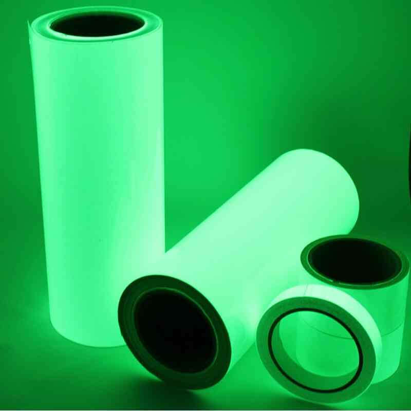 Un Rotolo 10 M Luminoso Nastro adesivo Glow In The Dark Fase Casa Decorazioni Nastro di Avvertimento di Sicurezza