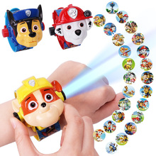 Paw patrol toys psi Projection watch action figure patrulha canina birthday anime figures pow gift