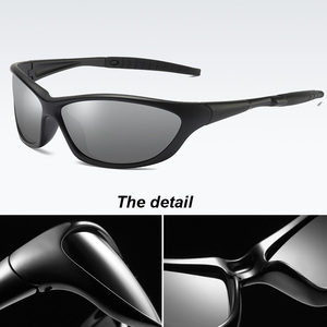 Image 5 - 2020 Mens Polarized Sunglasses outdoor driving fishing glasses for men with UV400 dropshipping