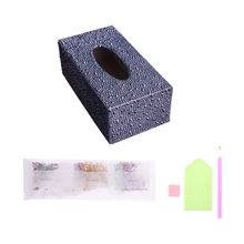 Special Shape Diamond Painting DIY Roll Tissue Box Jewelry Storage Cross Stitch Q6PE