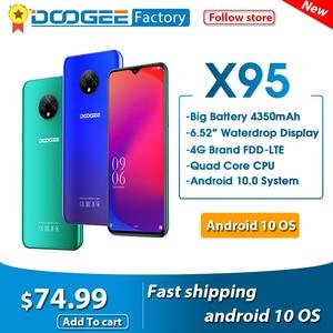 """Image 1 - DOOGEE X95 Android 10 Điện Thoại Di Động 13MP Camera 6.52 """"Màn Hình Điện Thoại Di Động MTK6737 GB RAM 16GB Dual SIM 4350MAh 4G LTE Điện Thoại Thông Minh"""