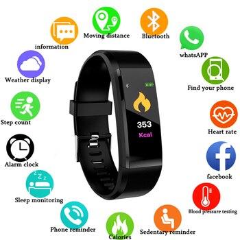 Smart Watch Men Women Smart Bracelet Heart Rate Monitor Blood Pressure Fitness Tracker Smartwatch Sport Watch for IOS Android 1