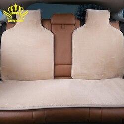 Faux futra pokrowce na siedzenia samochodowe sztuczne futra peleryny na tylne siedzenie 5 kolory miękkie futro zimowe ciepłe lato nie jest gorąca sprzedaży 2016 nowy