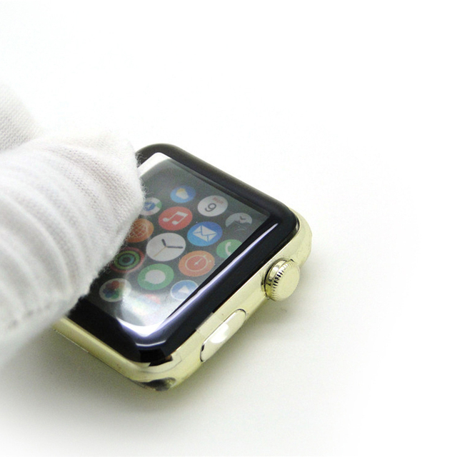 3D Glass Case for Apple Watch 4