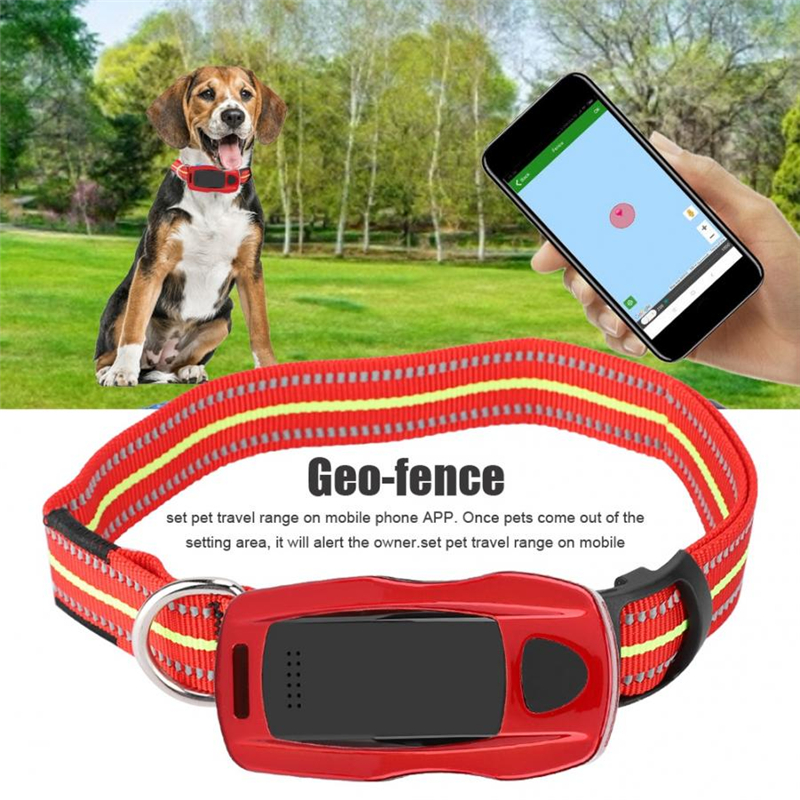 Smart Waterproof IP67 Mini Pets GPS Collar Tracker Cat Dog Finder Locator Monitoring System High Quality Pet GPS Tracking Device