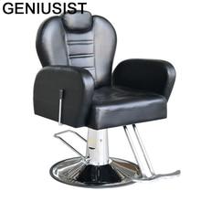 De Belleza Nail Furniture Stoel Sedia Cabeleireiro Mueble Barbeiro Chaise Salon Barbearia Cadeira Silla Shop Barber Chair