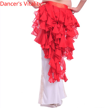 Wholesale belly dance hip scarf chiffon Fox's tail sexy women chain girls belt - discount item  30% OFF Stage & Dance Wear