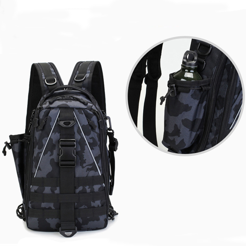 Military Backpack Chest Bag Tactical Waterproof Rucksacks Men Army Outdoor Sports Camping Hiking Fishing Hunting Nylon Bags in Climbing Bags from Sports Entertainment