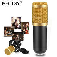 FGCLSY BM800 Mikrofon Kondensator Sound Aufnahme Mic BM 800 Mikrofon Für Radio Singen Live Aufnahme KTV Karaoke