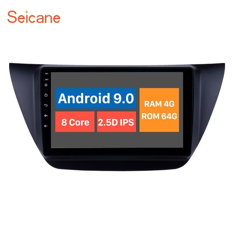 Seicane 9 inch Android 10.0 Car Multimedia player GPS for MITSUBISHI LANCER IX 2006 2007 2010 with WIFI Carplay Bluetooth USBCar Multimedia Player   -