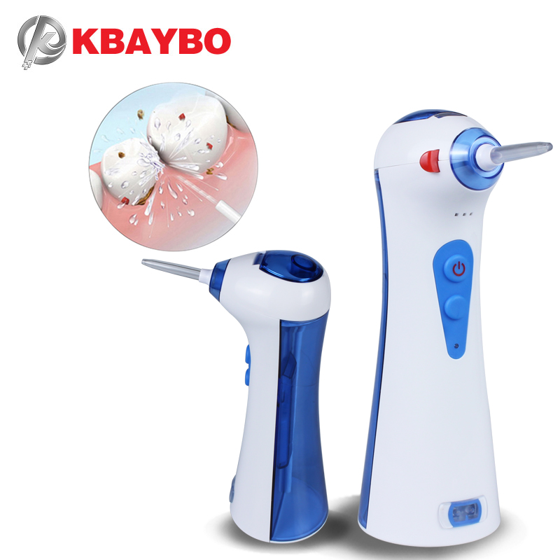 120ml USB Electric Rechargeable  Portable Oral Irrigator Dental Flosser Water Tank Portable Daily Floss Pick For Teeth