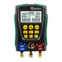 DY517 Pressure Gauge Refrigeration Digital Vacuum Pressure Manifold Meter Tester Tester Dropshipping