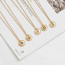 new deserve to act the role of the zodiac necklace euramerican fashion contracted alloy pendant chain of clavicle animal zodiac monkey choke necklaces new life rabbit alloy clavicle pendant chocker necklace wedding bride gift