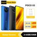 Глобальная версия Xiaomi POCO X3 NFC 6 Гб 64 Гб/6 ГБ 128 Гб Смартфон Snapdragon 732 Octa Core 64-мегапиксельная четырехъядерная камера 6,67
