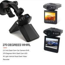 2,4 дюймовый складной видеорегистратор, автомобильная камера, видеорегистратор с вращением на 270 градусов, видеорегистратор со светодиодный...