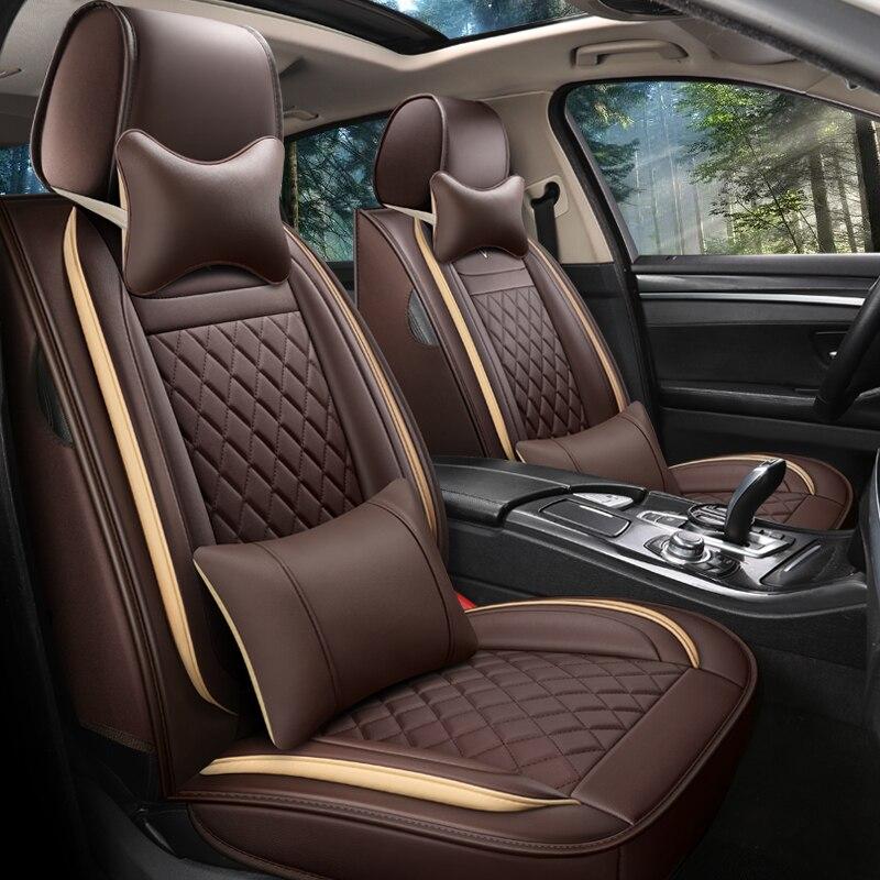 Front + back Full coverage car seat cover for audi A3 sportback A1 A2 A3 Limousine A4 A5 Quattro A7 Sportback Q2 Q3 Q5 Q7