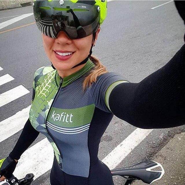 2019 pro equipe triathlon ciclismo terno manga longa jérsei skinsuit macacão maillot ciclismo roupas gel conjunto 6