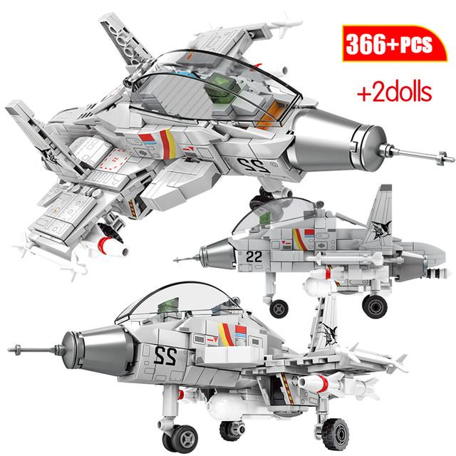 CITY Police Medium Transport Helicopter Military Model Building Blocks Creator Carrier Fighter Technic Bricks Toys For Children