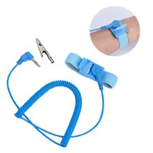 Anti Static ESD Wrist Strap Elastic Band with Clip Electronics Repair Work Tools