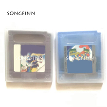 Super M Land 1 2 DX 6 Gold Coins Video Game Memory Cartridge English Language Card for 16 Bit Console Save