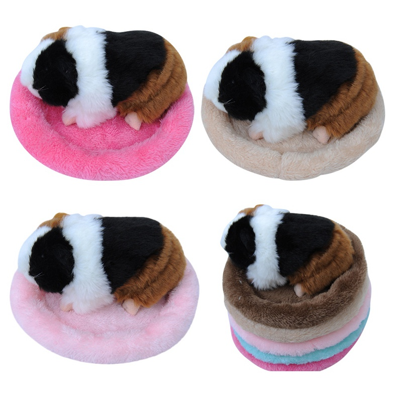 Pet Nest Fashion Warm Cotton Bed Cold Winter Pets Keep Warm Solid Soft Breathable Pet Bed 5