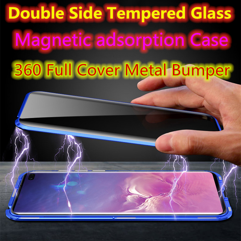 360 Full Cover <font><b>F11</b></font> Metal Magnetic Adsorption <font><b>Phone</b></font> Case For <font><b>Oppo</b></font> <font><b>F11</b></font> <font><b>Pro</b></font> Cases Double Glass Coque <font><b>Oppo</b></font> <font><b>F11</b></font> <font><b>Pro</b></font> Shell Fundas Euti image