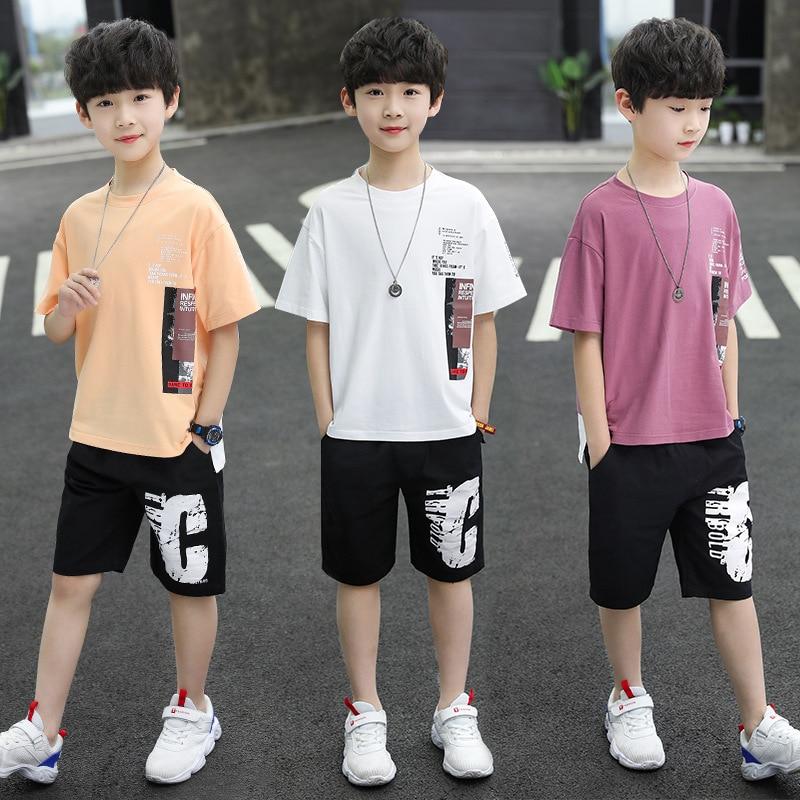 Children-Boys T-Shirt + Short-Pant Sets
