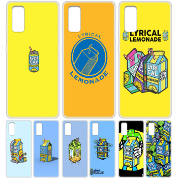 Lyrical Lemonade Phone Case cover hull For SamSung Galaxy S 6 7 8 9 10 20 Edge Plus E Lite 5G Ultra transparent hoesjes 3D back image
