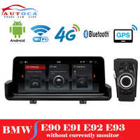"""10.25"""" Android 9.0 car GPS radio multimedia Stereo navigation player for BMW E90 E91 E92 E93 3 series 2005-2012 with iDrive"""