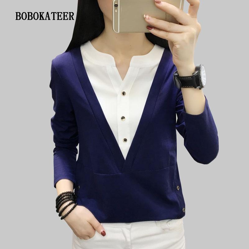BOBOKATEER haut femme chemisier femme túnica blusa partes superiores das mulheres e blusas camisa das mulheres camisas blusas mulheres 2019 bluzka damska