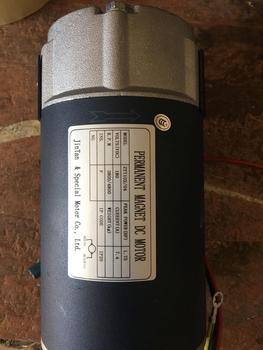 Large Torsion Permanent Magnet DC Motor Super-strong Spindle Lathe Drilling Machine Motor 180v 1200W