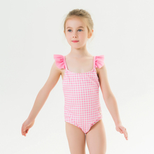 New Children #8217 s Swimwear Summer New Swimwear Girls Children #8217 s Straps Cute Printed Swimwear One-piece Swimsuit cheap geanxi Polyester Plaid Fits smaller than usual Please check this store s sizing info 82019