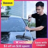 Baseus-mopa para suelo de microfibra, cepillo de lavado de coches, cepillos de limpieza de vehículos manos libres, mopa plana suave, herramientas de limpieza del hogar