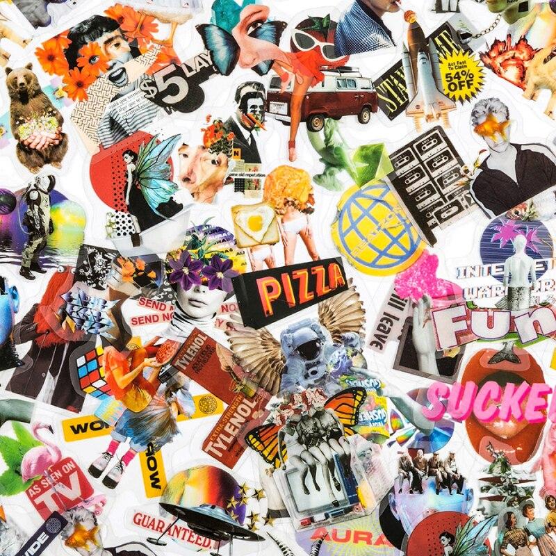 40 шт стикеров в стиле бабочки ins дневник декорация альбом