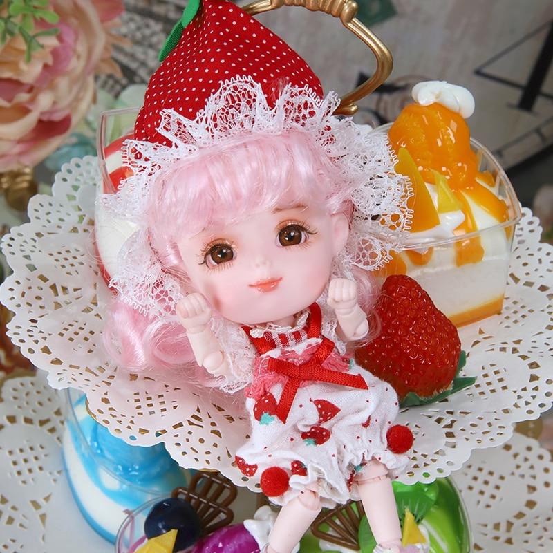 Rêve fée 1/12 BJD poupée DODO poupée ob11 14cm mini poupée 26 corps commun mignon enfants cadeau jouet ange surprise poupée - 3
