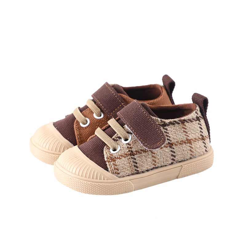 Fashionable Toddler First Walkers Baby Infant Canvas Shoes Leopard Print Casual Shoes Autumn Winter New Design SX205
