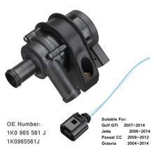 Engine Cooling Water Pump Auxiliary 1K0965561J For VW Jetta Golf GTI Passat CC Octavia 2004 2005 2006 2007 2008 2009 2010 2014