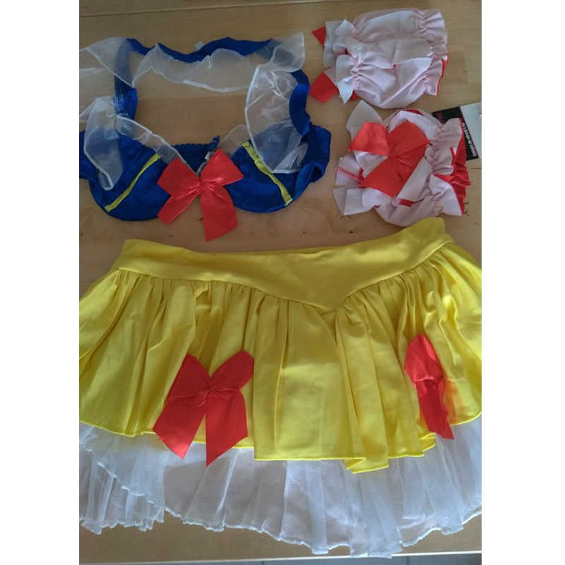 SNAILIFY Sexy Lingerie Sneeuwwitje Cosplay Vrouwen Game Rollenspel Snowwhite Pruik Halloween Kostuum Volwassen Carnaval Party Fancy Dress