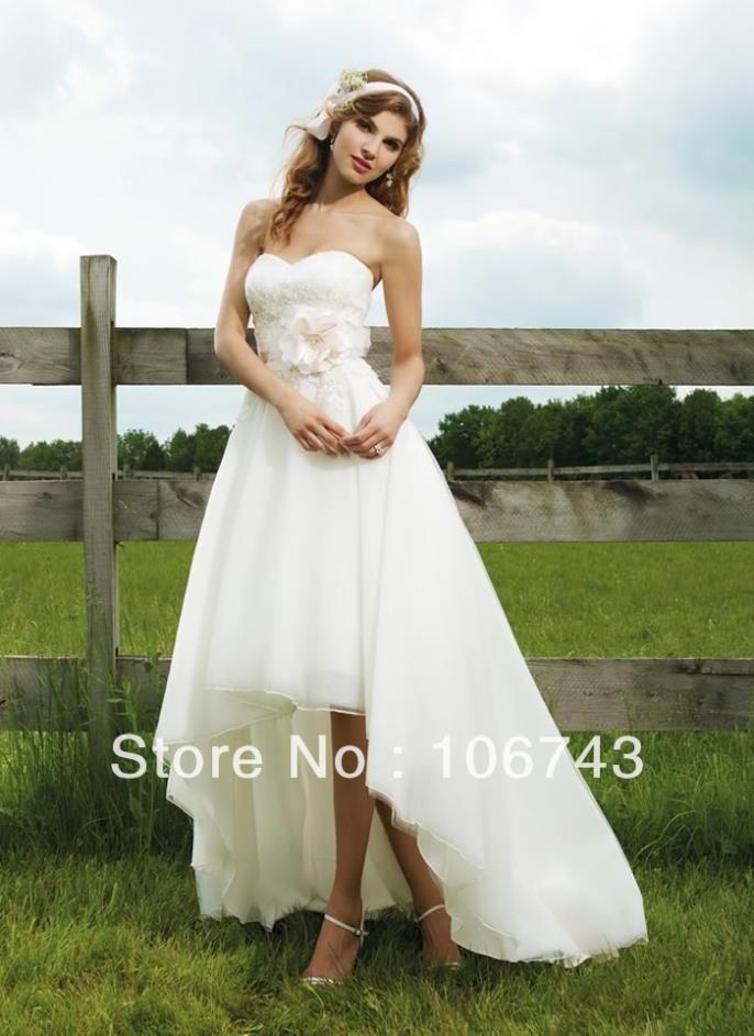 Free Shipping 2016 New Style Hot Sale Sexy Bride Wedding Sweet Princess Custom Size Handmade Bow Flowers Sashes Bridesmaid Dress