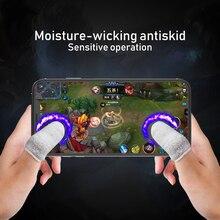 RETROMAX пальчиковые Игровые перчатки для PUBG/MOBA/iPhone/Android/iOS мобильный телефон/планшет нескользящие/анти-пот дышащие перчатки для пальцев