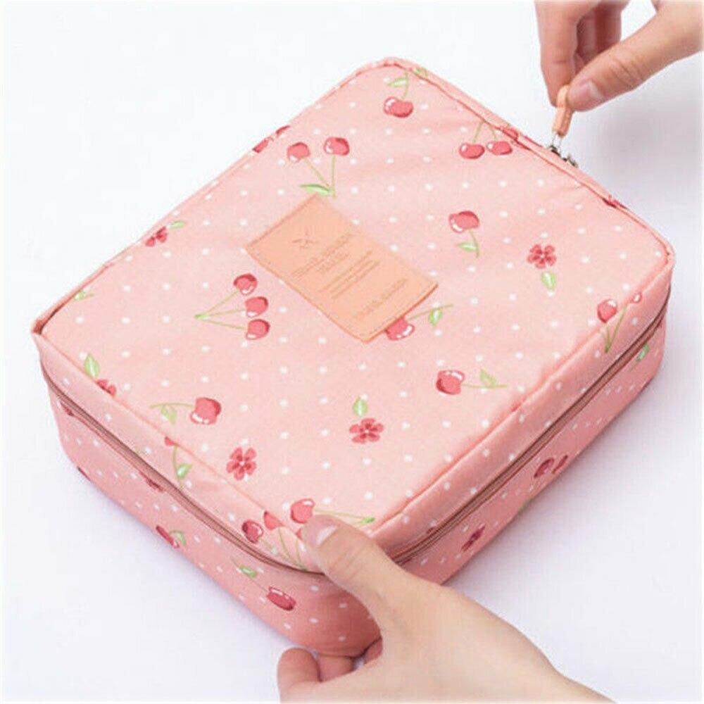 Professional Large Makeup Bag Cosmetic Case Storage Handle Organizer Multifunction Travel Bag