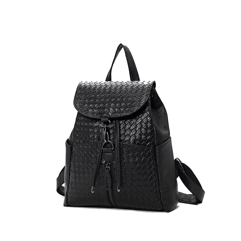 Fashion Ladies Bag Embroidered Ethnic Style Women's Bag Backpack Simple Backpack Water-Proof Large-Capacity Mummy Bag Baby Trave